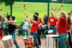 Zé Samba aux Virades de l'espoir