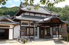 海徳寺本堂