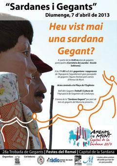 La colla inicia la nova temporada a Arenys de Munt, el pròxim 7 d'abril de 2013