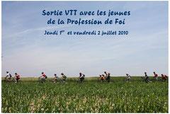 Sortie VTT des P.F