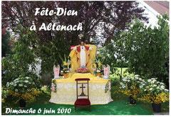 Fête Dieu à Altenach
