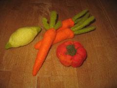 gefilztes Obst und Gemüse