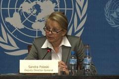 Заместитель Генерального директора Международной организации труда (МОТ) Сандра Поласки