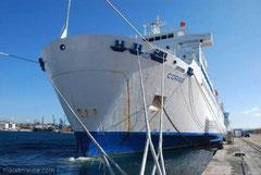 Le Corse à quai à Marseille