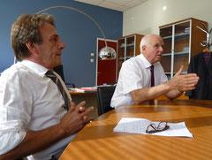 Vincent Cancellieri et Yvon Alain