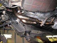 W123 ステンレスマフラー