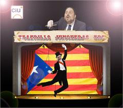 El teatrillo y la marioneta