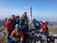 霊仙山 山頂(1083m)
