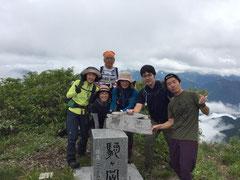 富山の駒ケ岳制覇したぞ。