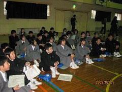 2月25日(水)、滑石中学校 ...