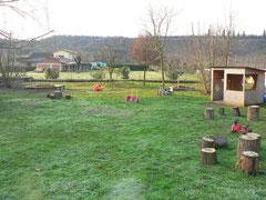 Giardino e giochi Micro Nido Asilo Il Piccolo Kayak