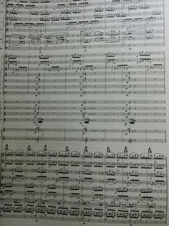 交響曲PRAYERの楽譜イメージ