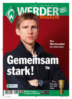 Das WERDER Magazin - mit 50.000 Exemplaren eine Marke in der Bundesliga. Jetzt gibt es einen Nachfolger: Werder HEIMSPIEL Magazin ...