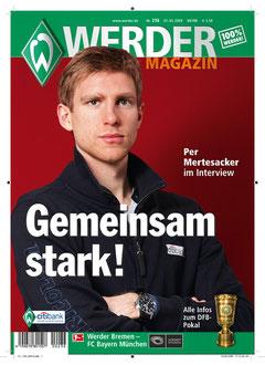 Das WERDER Magazin - mit 50.000 Exemplaren eine Marke in der Bundesliga.