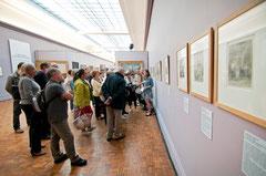 Visite de l'exposition Enquête sur le bagne. © Mathieu Le Gall.