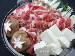 鍋合戦プラン 赤崎荘の自慢鍋『豚すき鍋』