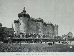Reconstitution de la Bastille pour l'Exposition universelle de 1889