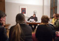 Lesung - Foto von Autor Andre Schinkel