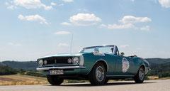 Donau Classic 2014 - Chevrolet Camaro Cabriolet Bj. 1967 Team Conti-VED ©2014 Uwe Marquart