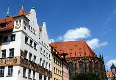 Blick vom Hauptmarkt in Nürnberg ©UweMarquart