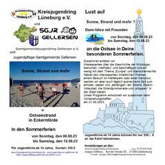 KJR / SGJR - Sommerfahrt