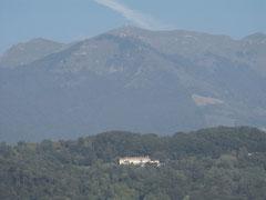 Das Haupthaus ,Col Muson,von Castelcucco aus gesehen