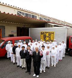 第5代社長・勝田吉雄(写真左)、 藤前センター長・勝田和吉(写真右)
