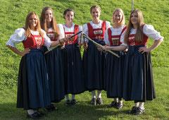 Carina, Kathrin E., Kathrin S., Chiara, Lisa, Julia, Isabella, Sabrina