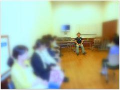 tomoさんとのセッション風景(2013年6月)