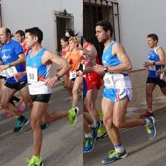 De izq. a der. Manuel Jiménez y Juan Ramírez.
