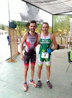Manuel Pérz García a la izquierda de la imagen.