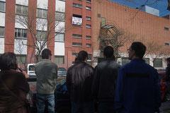 Espacio vecinal ocupado La Cantera Vicálvaro. Calle Titanio 1. Edificio okupado Vicálvaro