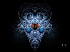 "Fraktales Design ""Alien"" © Sven Fauth"