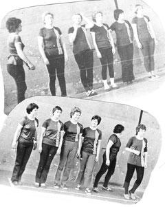 I. und II. Mannschaft 1980
