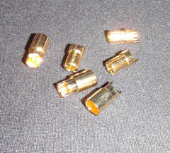 5,5mm Goldkontaktstecker