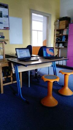Mein Arbeitsfeld: der Informatikraum