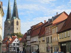 Neustädter Marktplatz mit Kirche St. Nikolai, Quedlinburg