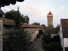 Rothenburg o.d. T., Wehrmauer und Galgentor