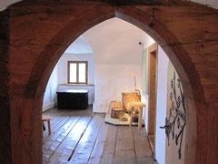 Burg Wolfsegg, Stube
