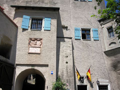 Burg Falkenstein, Torbau
