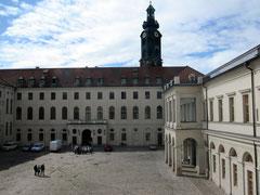 Residenzschloss Weimar, Innenhof