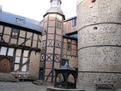Burg Falkenstein, Palas und Bergfried