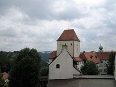Veste Oberhaus, Blick auf die Hauptburg