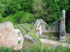 Burg Donaustauf, Blick auf das dritte Tor