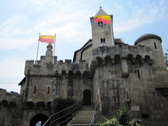 Burg Liechtenstein, Burgtor und Kapelle