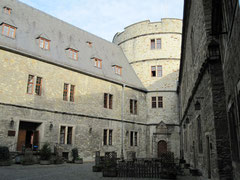 Wewelsburg, Innenhof und Nordturm