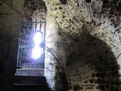 Tower of London, White Tower, normannisches Treppenhaus