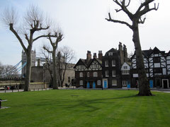 Tower of London, Tower Green, Queen´s House und Bloody Tower