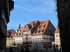 Marktplatz mit Lohgerberhaus, Quedlinburg