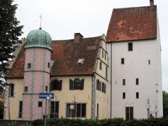 Ledenhof mit Steinwerk, Palas und Treppenturm